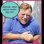 blogger sakit jantung